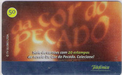21618 SP 05/04 Abertura Da Cor do Pecado T500.000 INT 50C