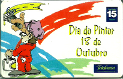 21784 SP 09/01 Dia do Pintor T300.000 INT 60c