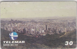 27549 MG 05/99 BH 101 Vista de BH do Mirante T900.000 INT 30C