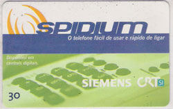 31471 RS 12/99 Spidium verde T200.000 CSM 30C