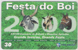 31536 PE 10/00 Festa do Boi T100.000 CSM 30C