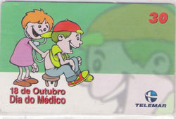37252 MG 10/00 Dia do Médico T400.000 CSM 30C