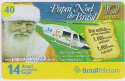 44054 DF 12/08 Papai Noel do Brasil - 40 C  T545.000 INT 40C
