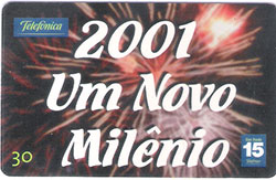 67267 SP 12/00 Ano Novo 2001 - 02/04 T400.000 INT 30C